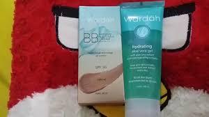 Wardah Gel make up dasar baru ku bbcream dan hydrating aloe vera gel dari