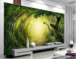 custom any size 3d fantasy woods trail tv wallpaper mural mural 3d custom any size 3d fantasy woods trail tv wallpaper mural mural 3d wallpaper 3d wall papers