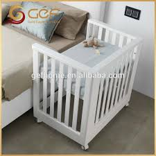 baby crib attached to bed baby nursery cot bed baby crib attached mother s bed gef bb 69