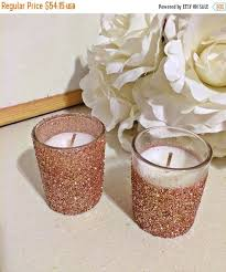 wedding table decorations candle holders 25 rose gold votive candle holders wedding centerpiece rose gold