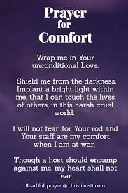 Your Rod And Your Staff Comfort Me A Prayer For Comfort