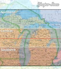 Maps Of Michigan What Actually Determines