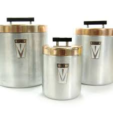 metal kitchen canister sets shop flour sugar canister set on wanelo