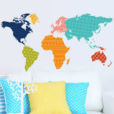 World Map Wallpaper by 2016 New Design Colorful Letters World Map Wallpaper Trees