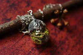wear a small part of nature and life with terrarium jewellery from