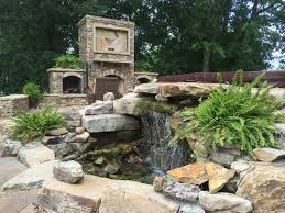 water features water feature u0026 stone fireplace in huntsville alabama durable