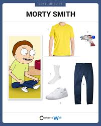 american apparel halloween dress like morty smith costume halloween and cosplay guides