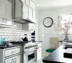 Concrete Tile Backsplash by White Subway Tile Backsplash Ideas Stainless Steel Countertop