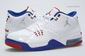 white blue ribbon air flight 23 white blue ribbon sneakernews