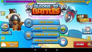 bloons td battles apk bloons td battles mod hack v4 0 3 free