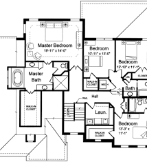 house plans with 2 master suites click to view house ranch floor