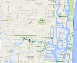 map of ft lauderdale fort lauderdale bicycle attorney cyclist local guide