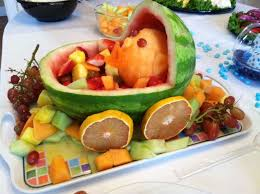 Fruit Decoration Ideas For Baby Shower Best 25 Watermelon Baby Carriage Ideas On Pinterest Pram For