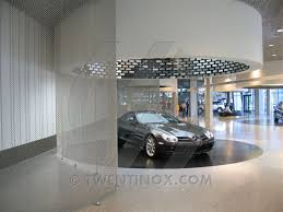 mercedes museum stuttgart interior mercedes benz museum metal interior decoration