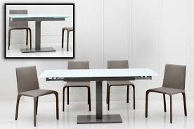 expandable dining room tables modern furniture black wooden expandable round dining table with brown