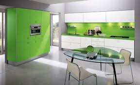 kitchen kitchen with bamboo furniture with open shelves also