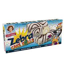 Little Debbie Halloween Cakes by Little Debbie Zebra Cake Rolls 6 Count 13 10 Oz Walmart Com