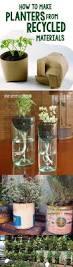 Indoor Garden Containers - best 25 recycled planters ideas on pinterest garden ideas diy