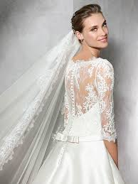 wedding dress with sleeves wedding dresses with sleeves pronovias