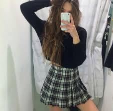 plaid skirt dress skirt tartan skirt phone cover girly grunge skirt must