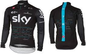 bicycle rain jacket castelli team sky pro fit light rain jacket free uk p u0026p at wheelies