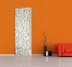 wohnzimmer glastür moderne glastür als elegante dekoration zuhause