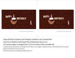 happy birthday cupcake 155 png 640 495 candy bar wrappers