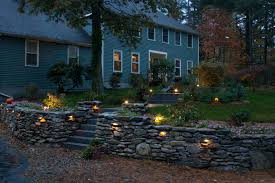 retaining wall lights under cap retaining wall landscape lighting advice for your home decoration