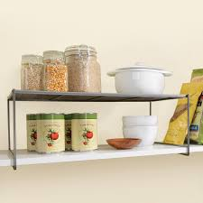 Kitchen Cabinet Shelf Organizer Lynk Locking Large Kitchen Pantry Cabinet Shelf Closet Shelf