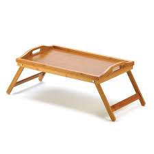 small table to eat in bed rectangular tray for eating breakfast in bed bamboo serving tray ebay