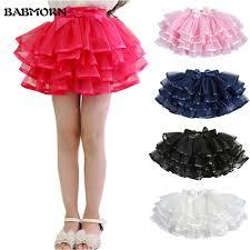 ribbon tutu tulle fluffy children tutu skirts girl skirts with satin