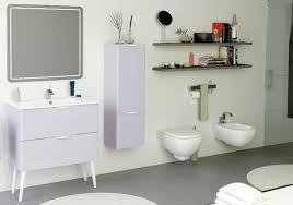 Gray Purple Bathroom - bend bathroom vanity and countertop ensemble grey
