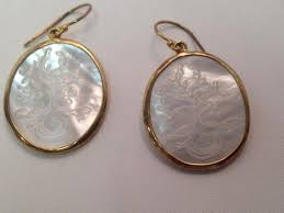 bluestone earrings earrings wonderful 14 kt gold earrings bluestone 14 kt gold