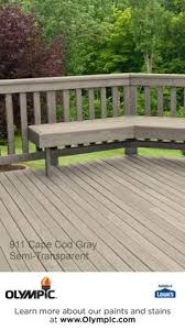 cabot deck stain in semi solid bark mulch half stained best deck