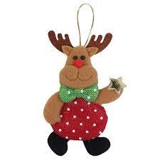 reindeer ornaments snowman santa claus reindeer ornaments grottomart