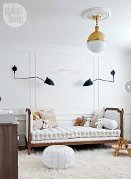 interior modern nursery light elements of style blog