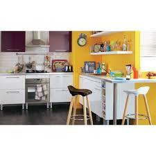 cuisine coloree carrelage design tapis cuisine alinea moderne design pour