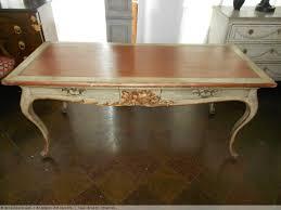 bureau italien grand bureau italien époque xixe avec patine d origine n 30253