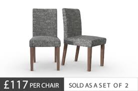 Fabric Dining Chairs Uk Fabric Dining Chairs Fabric Plain Checked Dining Chairs Next