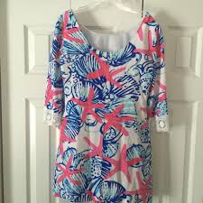 Lilly Pulitzer by Lilly Pulitzer Red White Blue Harbour Tunic Dress