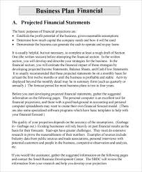 Financial Business Plan Template Excel Financial Business Plan Templates 21 Free Premium Word Excel