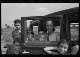 florida in the great depression poignant images of migrant families