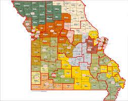 Map Of Missouri State by Legislators Pore Over New District Maps Audio
