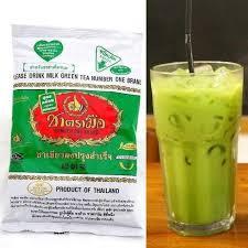 Teh Hijau Serbuk pembekal pemborong teh hijau dari thailand trending masa kini