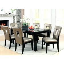 dining room tables set furniture of 7 piece mirror dining table