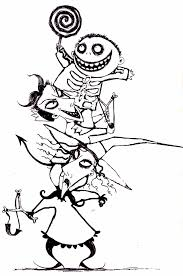 nightmare before christmas coloring pages selfcoloringpages com