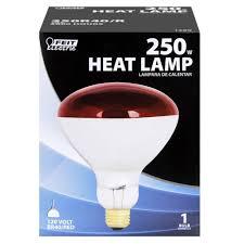 250 watt incandescent r40 heat lamp feit electric