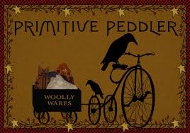 Primitive Table Runners by Primitive Peddler Wool Penny Rugs Patterns Pillows Table