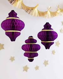 eid al fitr hanging paper lantern decorations martha stewart