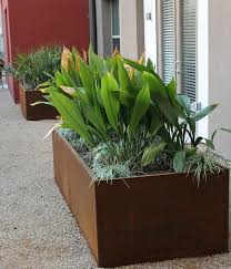 12 best cor ten steel planters images on pinterest cor ten